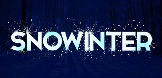 Snowinter font preview