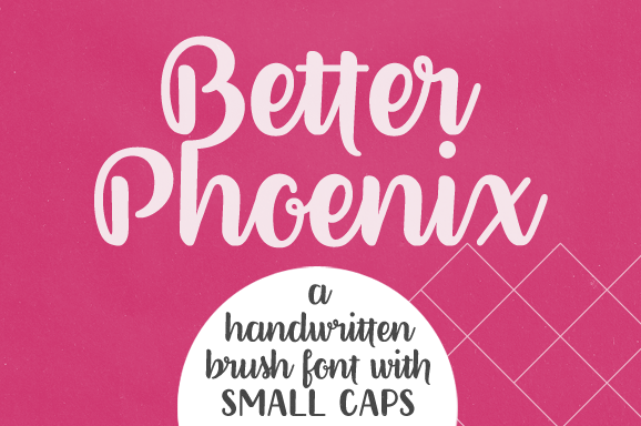 Better Phoenix font cover photo