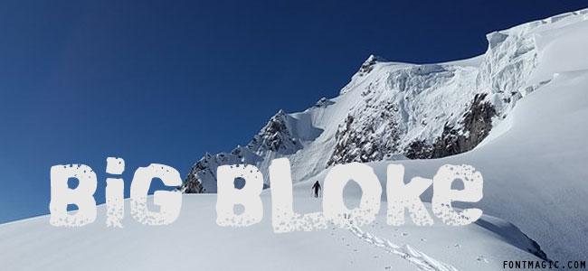 Big Bloke BB graphic