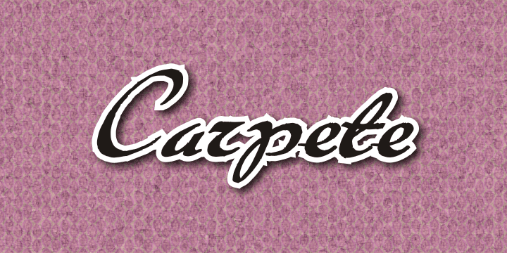 Carpete font cover photo