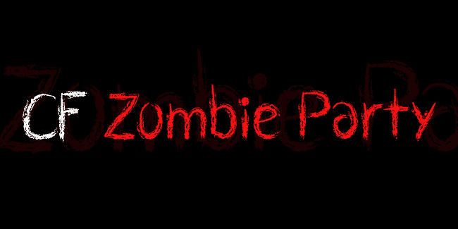 CF Zombie Party font cover photo