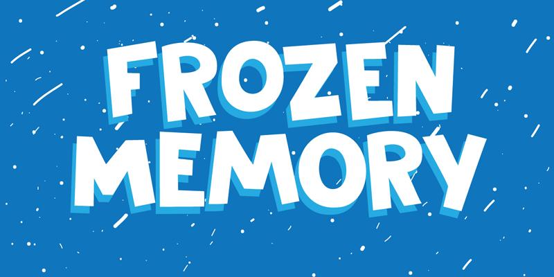 DK Frozen Memory graphic