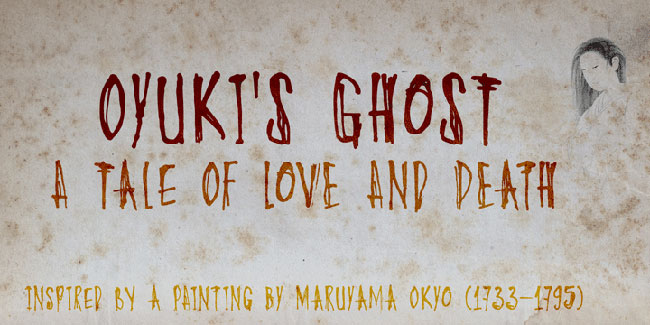 DK Oyuki's Ghost font cover photo