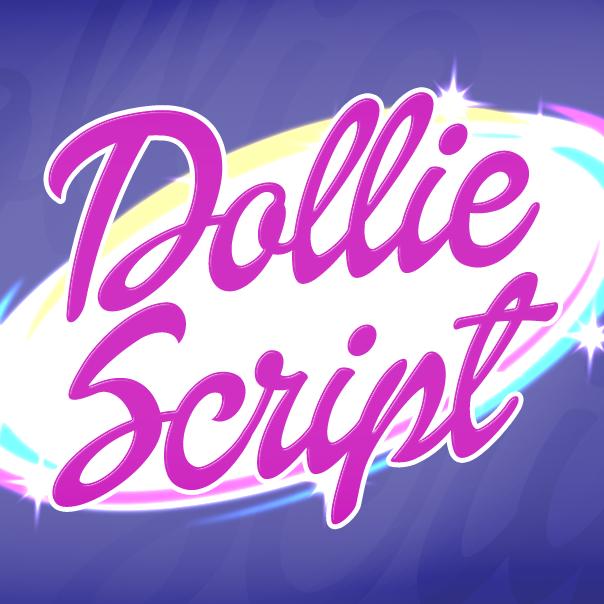 Dollie Script font cover pic