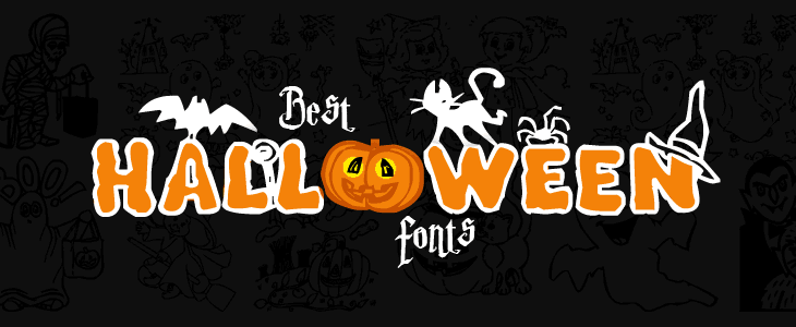 Free best halloween fonts for your celebrations cover image