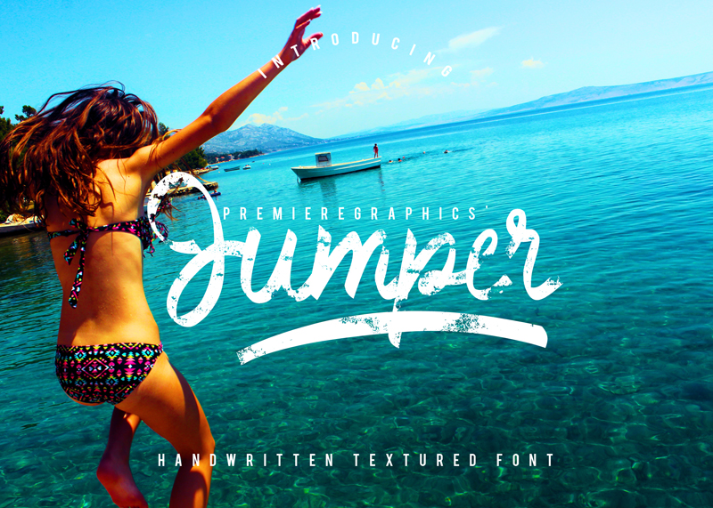 Jumper font cover photo