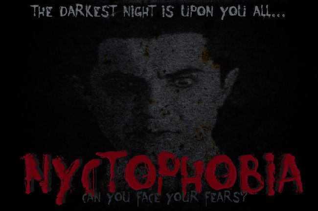Nyctophobia font cover photo
