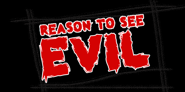 Reason to see Evil font cover photo