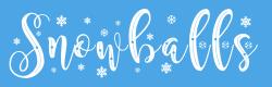 Snowballs font