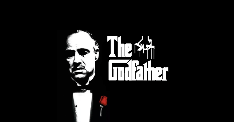 The Godfather font creative graphic