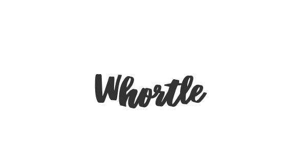 Whortle font thumb