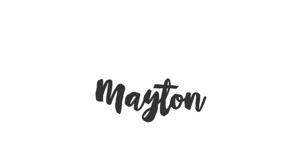 Mayton font thumb