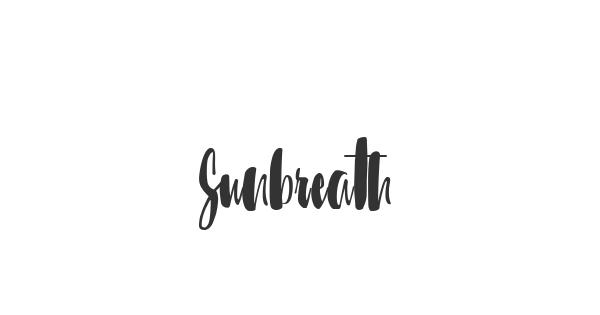 Sunbreath font thumb