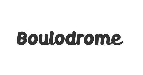 Boulodrome font thumb