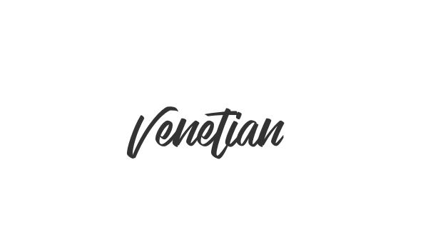 Venetian font thumb