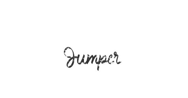 Jumper font thumb