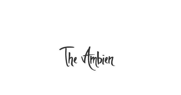 The Ambience font thumb