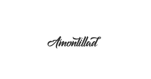 Amontilladios font thumb