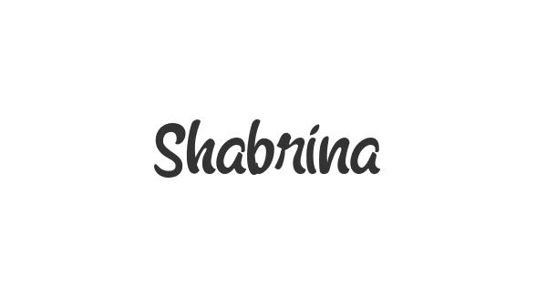 Shabrina font thumb