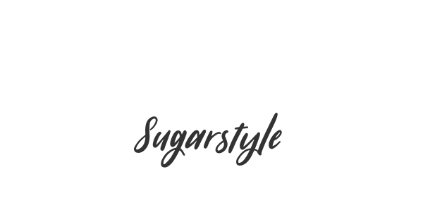 Sugarstyle Millenial font thumb