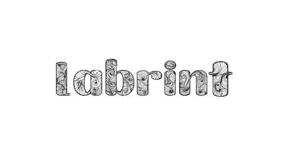 Labrint font thumb