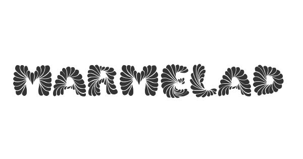 Marmelad font thumb