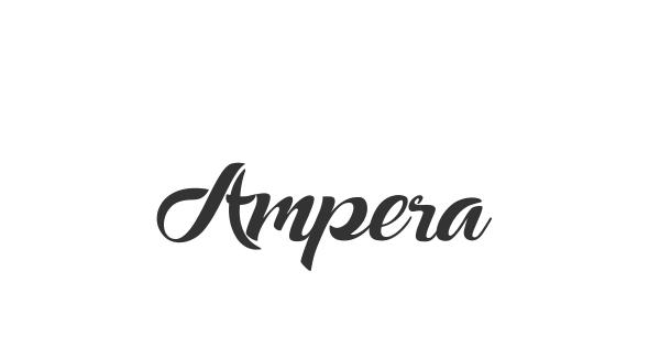 Ampera font thumbnail