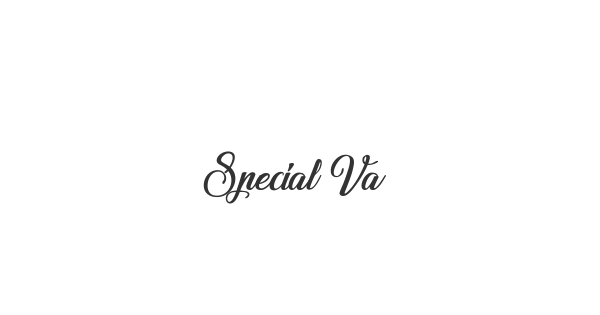 Special Valentine font thumb