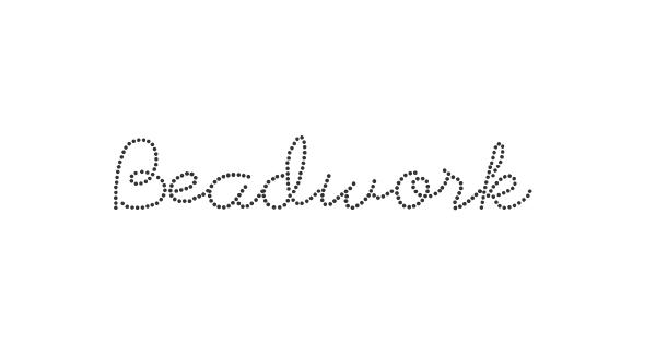 Beadwork font thumb