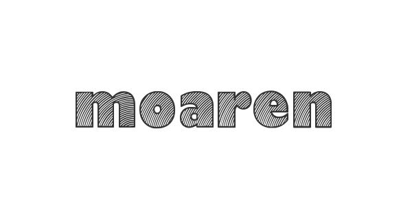 Moaren font thumb