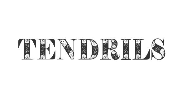 Tendrils font thumb