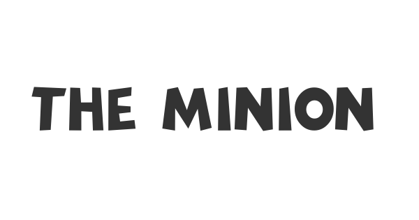 The Minion font thumbnail