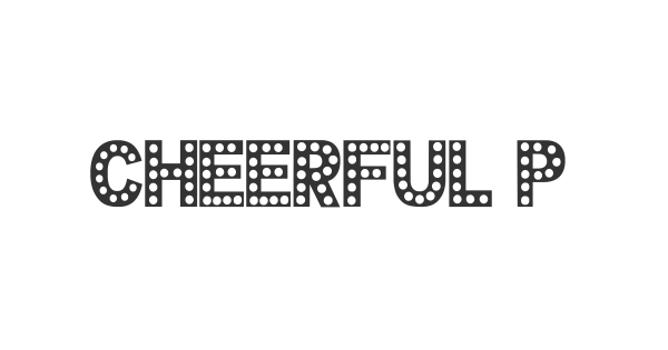 Cheerful Party font thumbnail