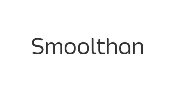 Smoolthan font thumb