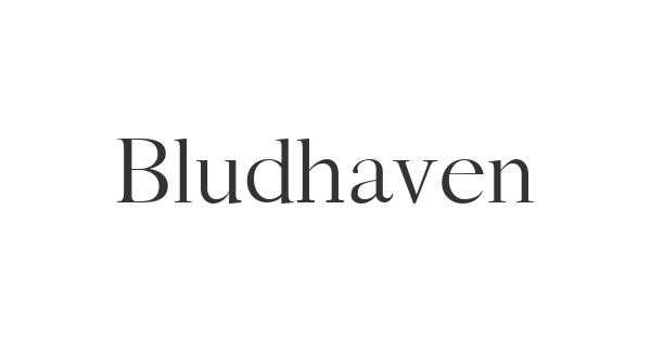 Bludhaven font thumb
