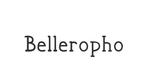 Bellerophon font thumb