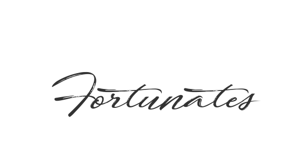 Fortunates December font thumb