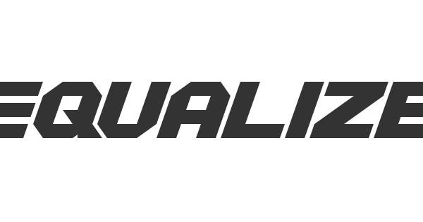 Equalize font thumb
