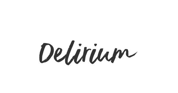 Delirium font thumb