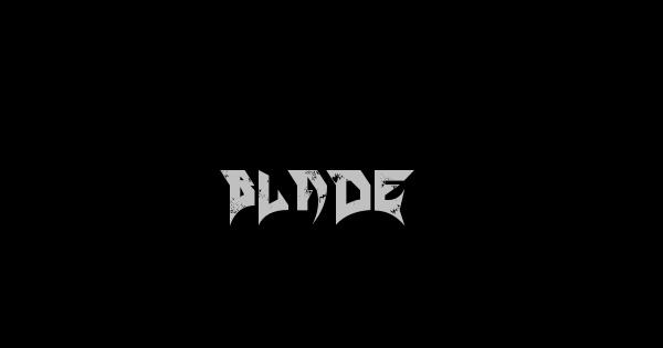 Blade font thumb