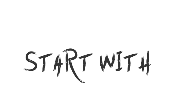 Start with Today font thumb