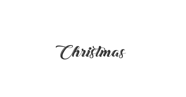 Christmas in Finland font thumb