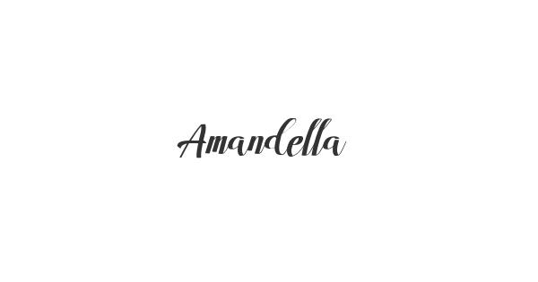 Amandella font thumbnail