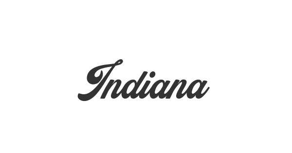 Indiana font thumb
