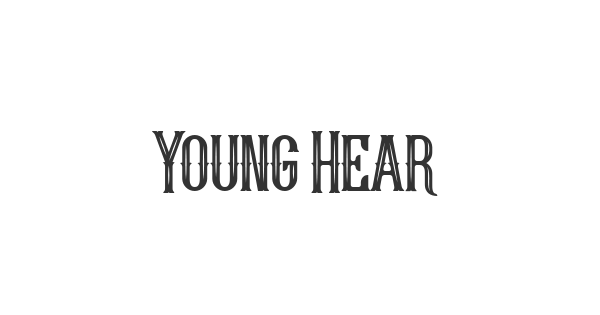 Young Heart font thumb