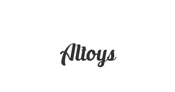 Altoys font thumbnail