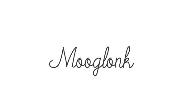Mooglonk font thumb