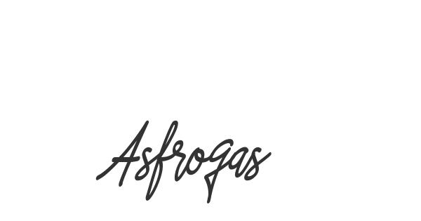 Asfrogas font thumb