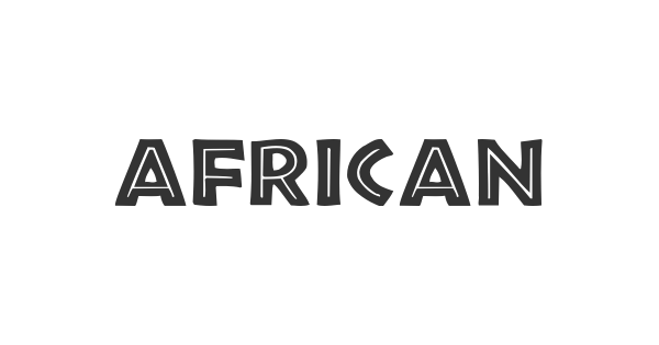 African font thumb