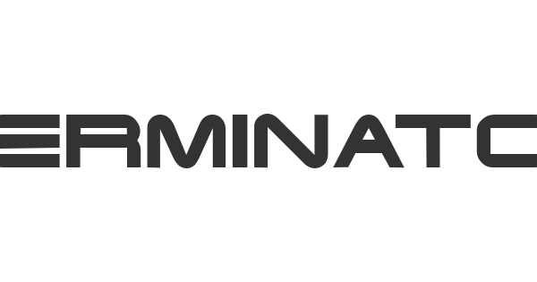 TERMINATOR font thumb